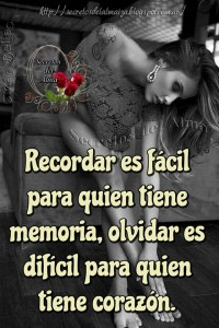 Recordar es facil