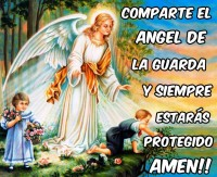 Comparate al angel de la guarda